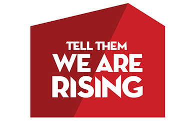 Tell Them We Are Rising Logo