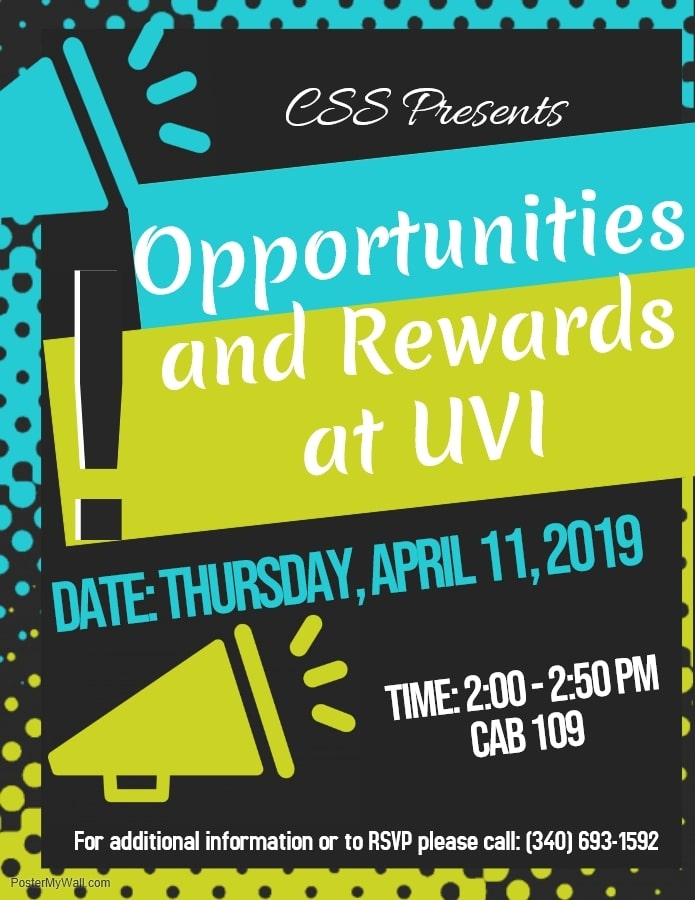Opportunities and Rewards Workshop