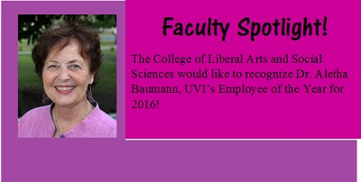 Faculty Spotlight: (click to see more)