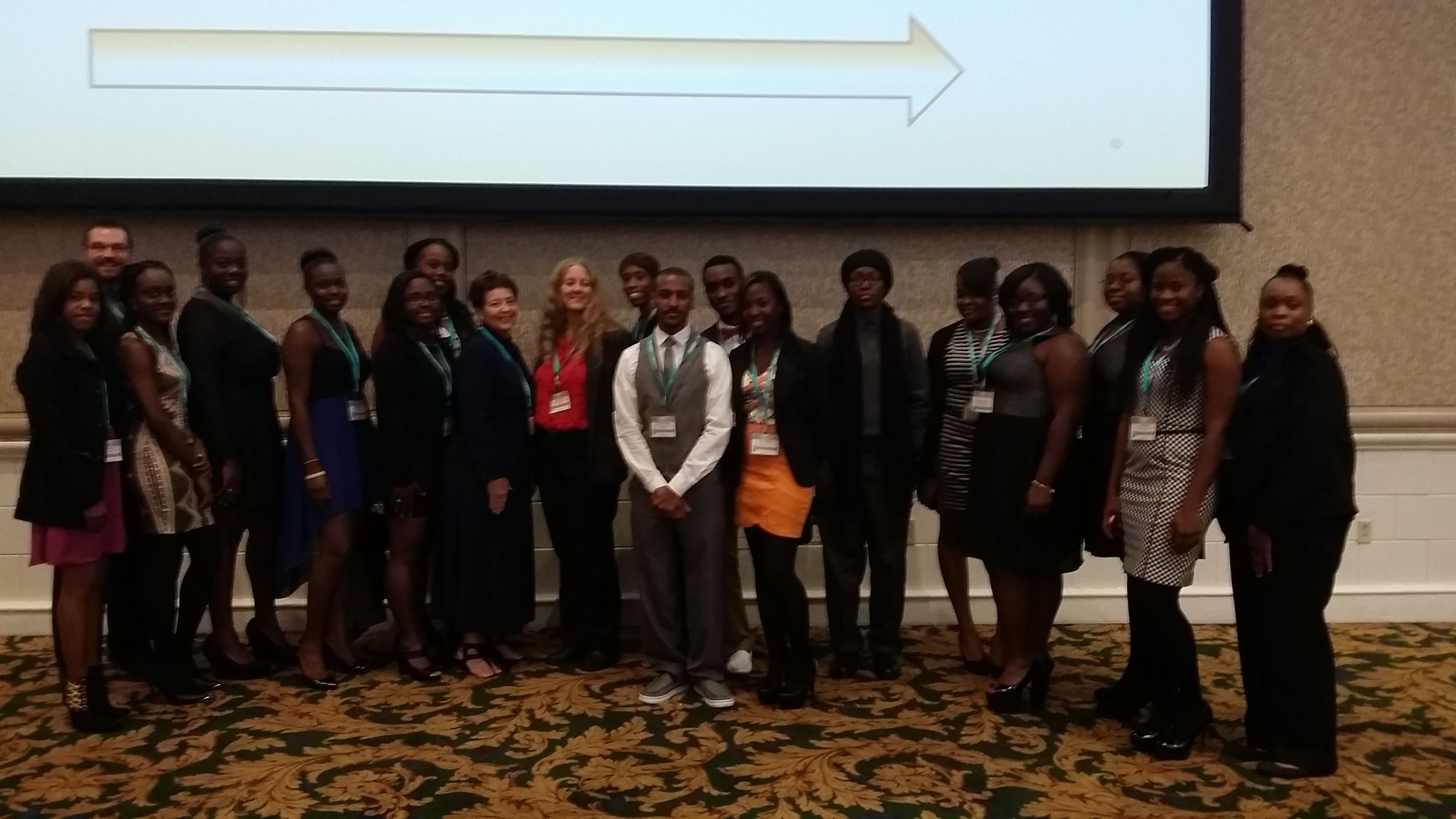 UVI students, faculty, and staff attend ABRCMS in Nashville