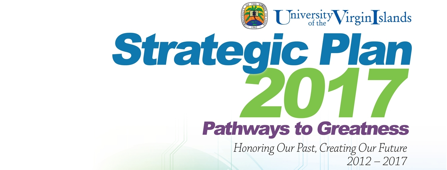 Strategic Plan 2017: Pathways to greatness