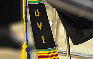 University of the Virgin Islands Graduation Tassel and Stole