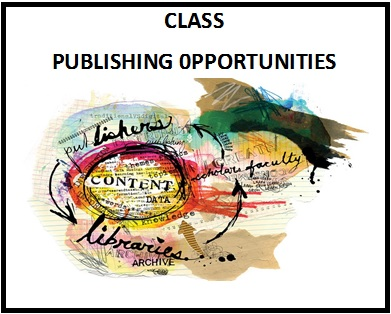 Publishing Opportunities