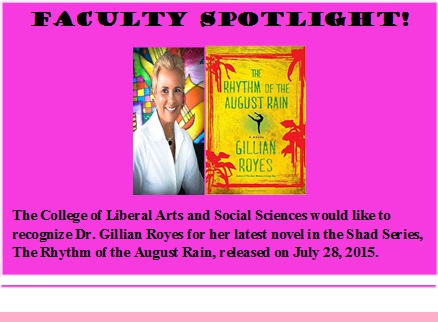 Faculty Spotlight: Gillian Royes (click to see more)
