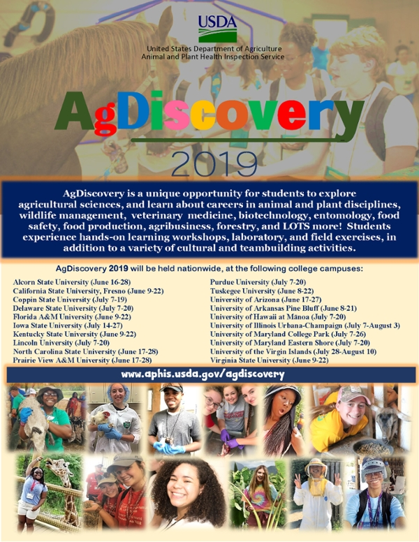 AgDiscovery 2019 National Flyer