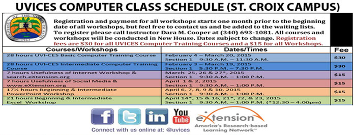 Click Image for St. Croix Computer Training Schedule