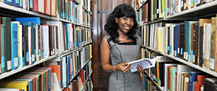 UVI's libraries are open to the USVI community.