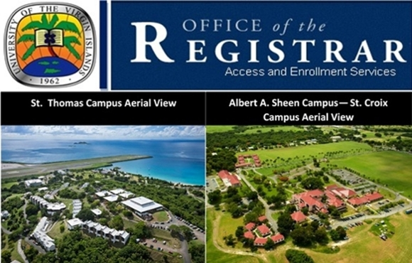 Aerial View of Albert A Sheen and St. Thomas Campuses