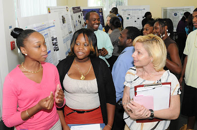 UVI students present research posters