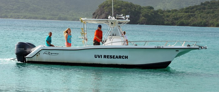 CMES conducts marine and environmental science research.