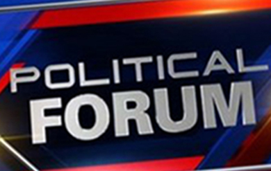 A Political Forum will be held on the Campuses on October 15 - 18