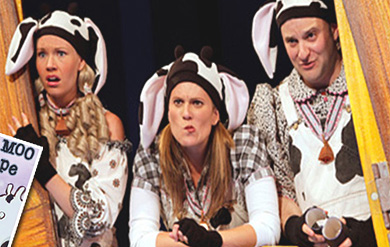Click Clack Moo: The Musical's performers