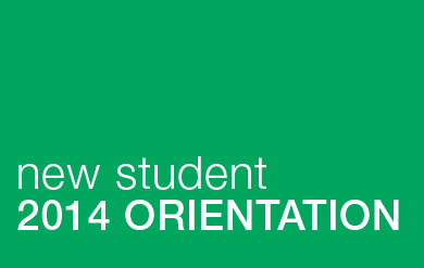 Image for new student orientation 2014