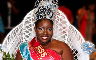 Miss UVI 2013 Murchtricia Charles
