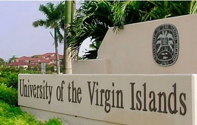 UVI Albert A Sheen Campus stock photo