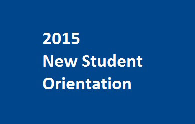 new student orientation stock photo