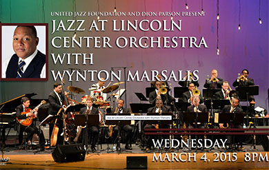Jazz at Lincoln Center Orchestra with Wynton Marsalis to perform at the Reichhold Center