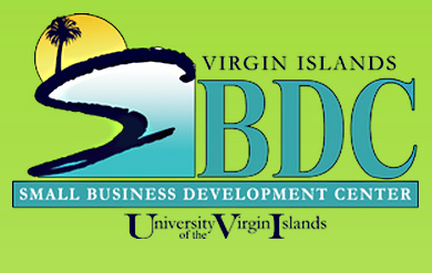 The Virgin Islands Small Business Development Center logo.