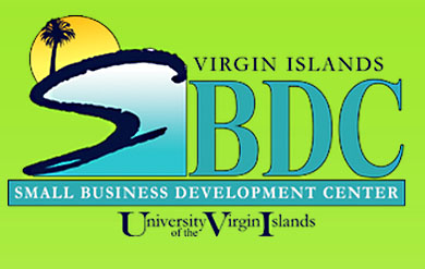 Virgin Islands Small Business Development Center logo.