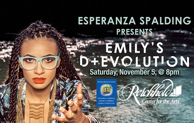 Grammy Award winning Jazz Bassist, Composer and Vocalist Esperanza Spalding