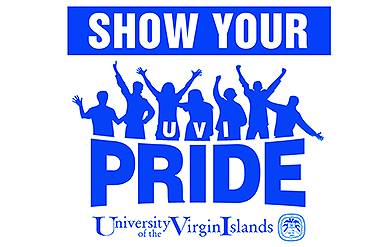 UVI's Logo Celebrating Pride Throughout the Month of April