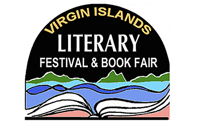 Logo of the Virign Islands Literary Festival and Book Fair