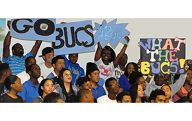 UVI Bucs cheered on by University family