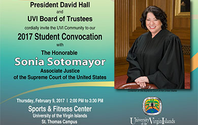 Honorable U.S. Supreme Court Justice Sonia Sotomayor