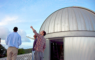The Etelman Observatory of the University of the Virgin Islands