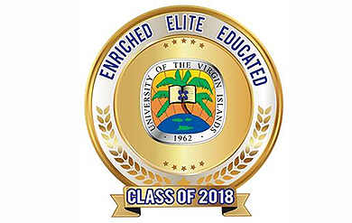 Logo for the University's Class of 2018