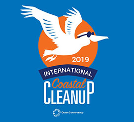 Ocean Conservancy's 34th International Coastal Cleanup Flyer