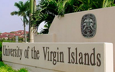 Campus Signage at the University of the Virgin Islands