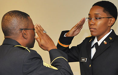 ROTC Commissioning Ceremony at UVI on St. Thomas