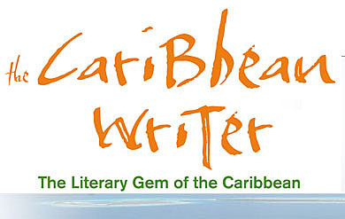 The Caribbean Writer word word art.