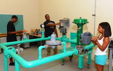 UVI Process Technology Program on Saint Croix