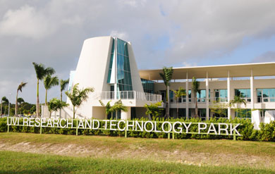 Research and Technology Park Building on the Albert A. Sheen Campus
