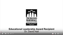 Thurgood Marshall College Fund Award